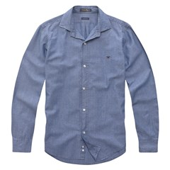 Camisa Custom Fit Chambray 5192