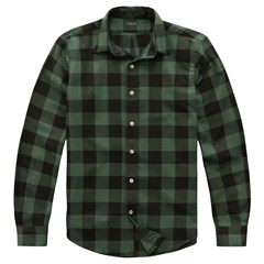 Camisa Custom Harry Flannel Ml Sb 07087 - Foliage Green