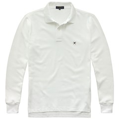 Polo Ml Piquet Taquinho 07021 - Bright White