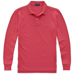 Polo Ml Piquet Taquinho 07021 - Rouge Red